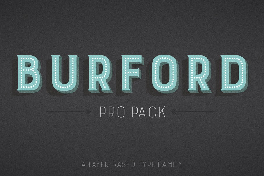 Burford Pro Pack ~ Display Fonts ~ Creative Market