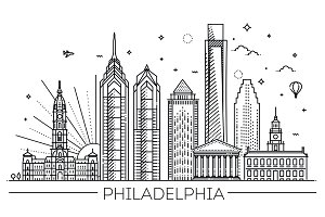 Philadelphia Linear Skyline