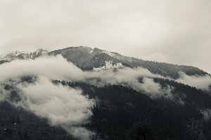 Cloudy day in the Himalayas