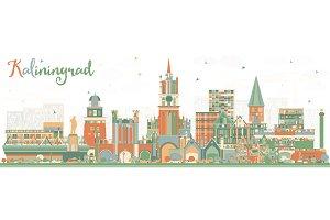 Kaliningrad Russia City Skyline