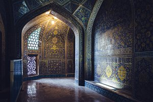 Corridor in Persian Mosque