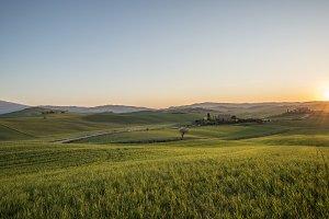 Scenic Landscape & Farm of Tuscany