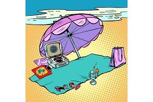 Beach holidays, tourism and travel