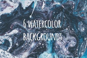 Vintage watercolour collection