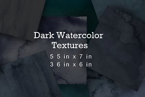 Grunge Dark Digital Paper / Texture