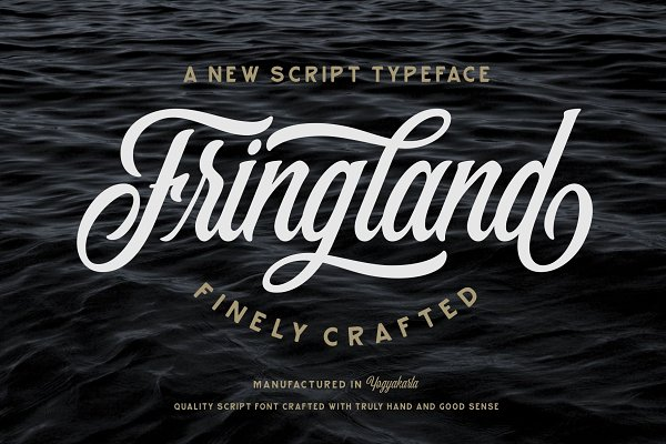Script Fonts - Fringland Script