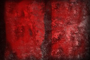 A red texture background.
