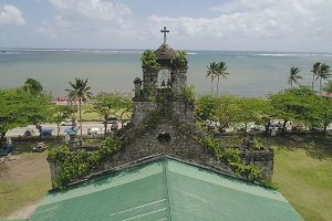 Old catholic church. Barcelona, Sorsogon,Philippines.