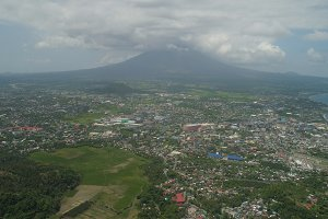 Legazpi city in the Pihilippines, Luzon.