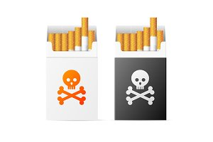 Cigarette Warning Pack