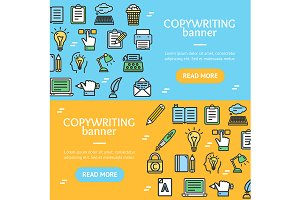 Writer and Copywriting Banner