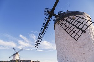 windmills in toledo Spain
