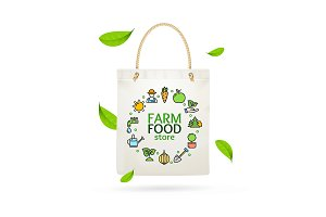 Eco Tote Bag Farm Product