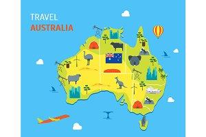 Australia Discover Concept Travel