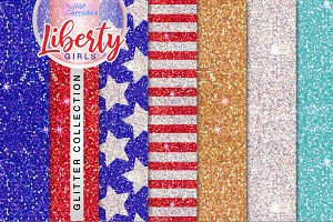 Liberty Girls Glitter Collection