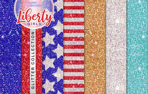 Liberty Girls Glitter Collection