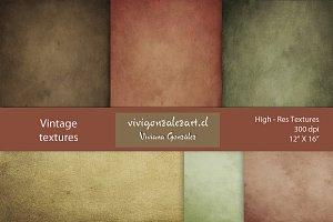 "Vintage textures (12""X16"")"