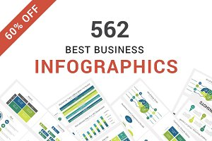 60% OFF - Infographics Google Slides