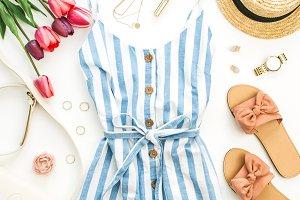 Female summer clothes set