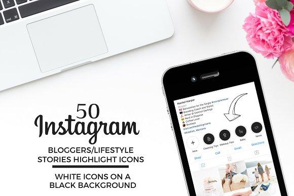 BLOGGER/LIFESTYLE Instagram Icons