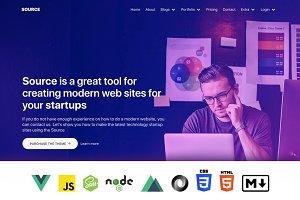 Source - Universal App VueJs & Nuxt