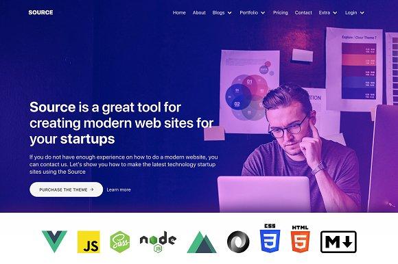 Source Universal App VueJs Nuxt