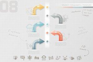 Modern Infographic Timeline (8)