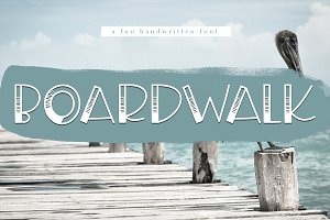 Boardwalk - Fun Handwritten