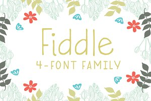 Fiddle 4-Font Family