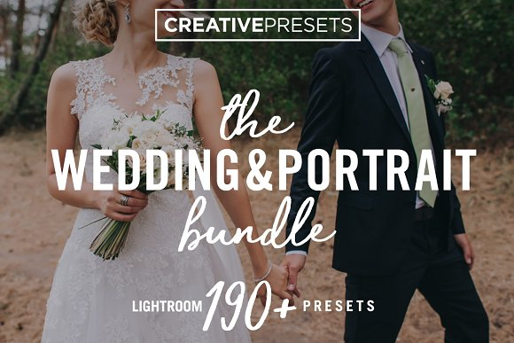 Wedding Portrait Lightroom Preset