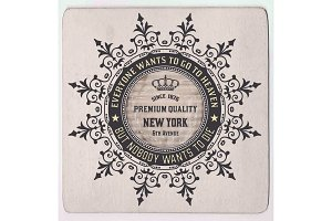 Royal card.