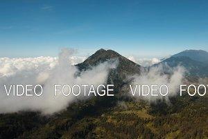 Mountain landscape Jawa island, Indonesia.