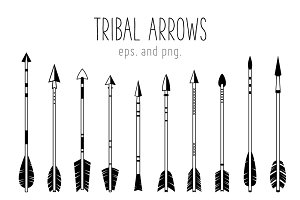 Indian Ethnic Arrows