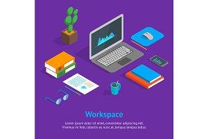 Workspace Concept 3d