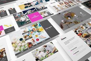 Foodie Duddie Google Slides Template