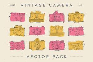 Vintage Vector Camera Pack