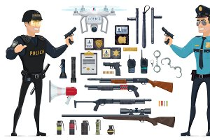 Police Elements Collection