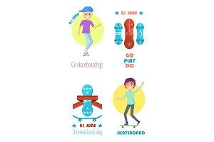 Go Play Do Motto on Skateboarding Day 21 June