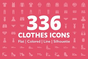336 Clothes Icons