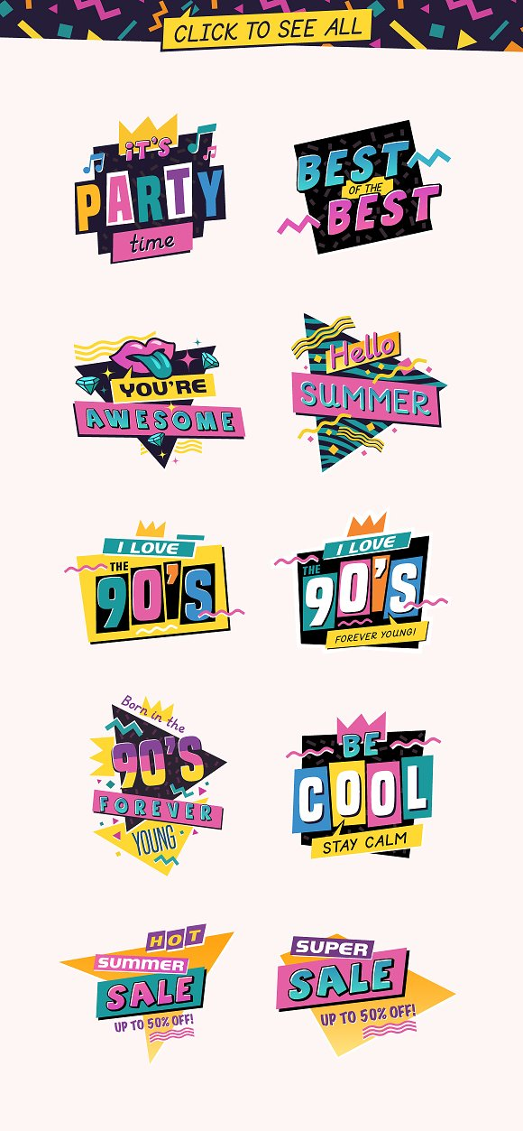 Totally Rad Bundle in Graphics - product preview 25