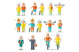 elderly people lifestyle