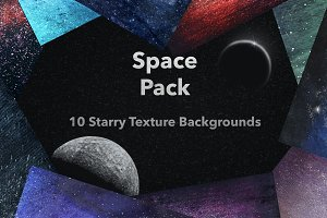 SPACE Pack - 10 SciFi Textures