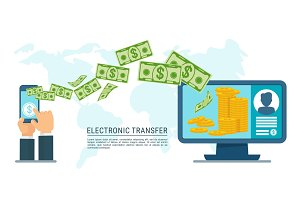 electronic transfer money