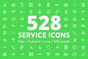 528 Service Icons