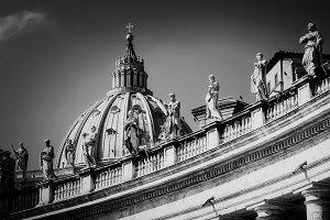 Peter Basilica Bernini's Colonnade