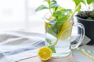 Vitamin infused detox water