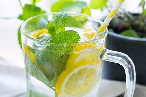 Vitamin infused citrus water