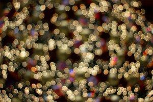 Colorful lights bokeh