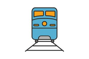 Train color icon