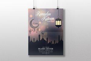 Ramadan Kareem Event Flyer V803